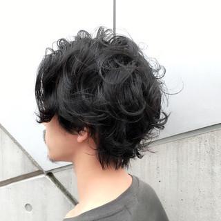 黒髪 ショート モテ髪 ミディアム ヘアスタイルや髪型の写真・画像
