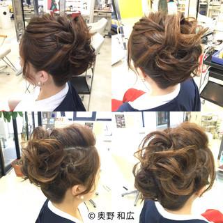 ヘアアレンジ 編み込み アップスタイル 着物 ヘアスタイルや髪型の写真・画像