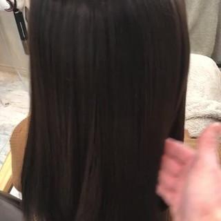 艶髪 ミルクティー ニュアンス 小顔 ヘアスタイルや髪型の写真・画像