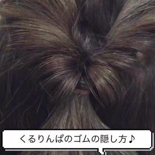 セミロング ショート ヘアアレンジ フェミニン ヘアスタイルや髪型の写真・画像