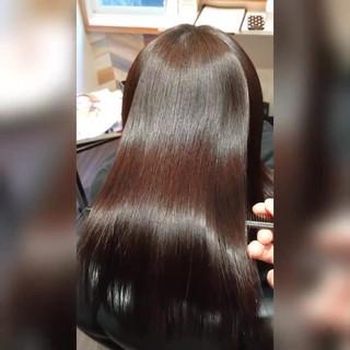 髪質改善トリートメント 美髪 ロング 髪質改善 ヘアスタイルや髪型の写真・画像