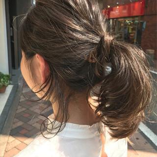 ハイライト グレージュ ナチュラル 外国人風カラー ヘアスタイルや髪型の写真・画像