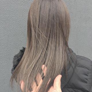 ナチュラル 透明感カラー ロング 透明感 ヘアスタイルや髪型の写真・画像