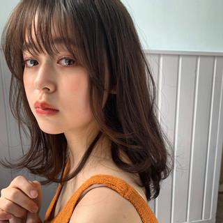 大人ミディアム ミディアム ミディアムヘアー 鎖骨ミディアム ヘアスタイルや髪型の写真・画像