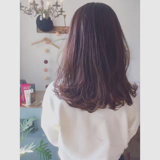 ピンクアッシュ ラベンダー ピンク ベージュ ヘアスタイルや髪型の写真・画像