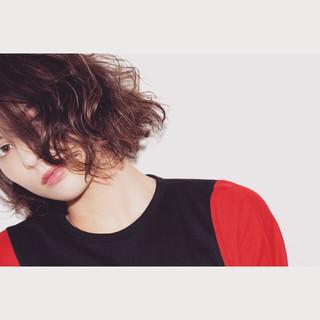 ミディアム ナチュラル ブラウン 外国人風 ヘアスタイルや髪型の写真・画像
