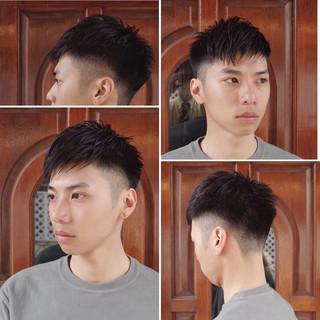 メンズショート メンズヘア 刈り上げ ショート ヘアスタイルや髪型の写真・画像