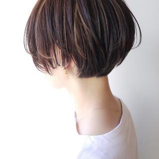 オフィス ショート コンサバ 大人かわいい ヘアスタイルや髪型の写真・画像