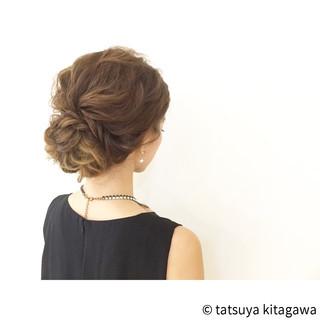 ロング 外国人風 花嫁 ヘアアレンジ ヘアスタイルや髪型の写真・画像