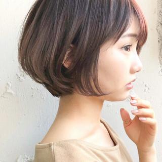 アッシュベージュ マッシュショート アンニュイほつれヘア 大人かわいい ヘアスタイルや髪型の写真・画像