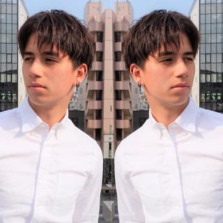 ショート メンズヘア メンズパーマ メンズカット ヘアスタイルや髪型の写真・画像