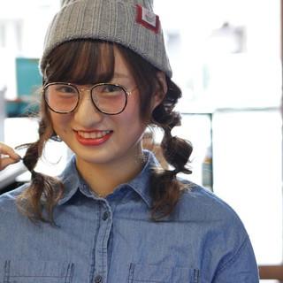 ショート ロング ツインテール ヘアアレンジ ヘアスタイルや髪型の写真・画像