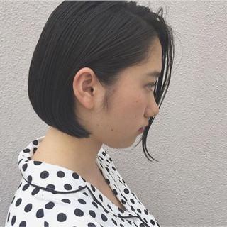 オフィス ナチュラル ハイライト 黒髪 ヘアスタイルや髪型の写真・画像