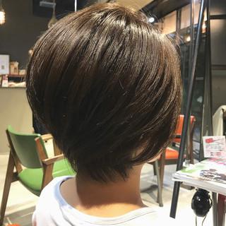 ナチュラル 大人カジュアル 大人ショート oggiotto ヘアスタイルや髪型の写真・画像