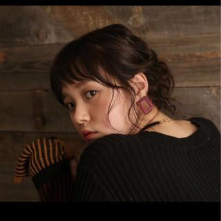 ミディアム 大人女子 冬 外国人風 ヘアスタイルや髪型の写真・画像