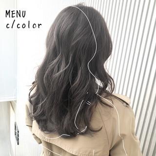 ストレート セミロング 髪質改善 前髪 ヘアスタイルや髪型の写真・画像