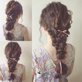 ショート ロング 結婚式 ヘアアレンジ ヘアスタイルや髪型の写真・画像