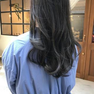 ロング 大人かわいい フェミニン デート ヘアスタイルや髪型の写真・画像