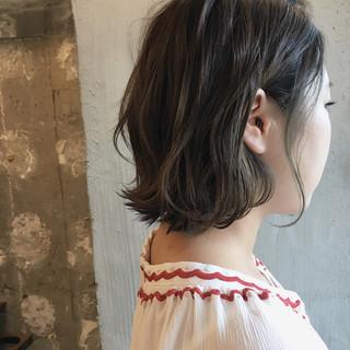 秋 透明感 女子会 ナチュラル ヘアスタイルや髪型の写真・画像