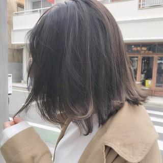 オフィス ナチュラル 黒髪 パーマ ヘアスタイルや髪型の写真・画像