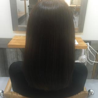 ナチュラル 黒髪 色気 暗髪 ヘアスタイルや髪型の写真・画像