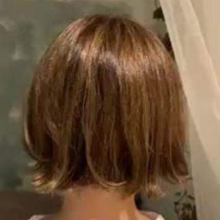 切りっぱなしボブ デート ボブ モテ髪 ヘアスタイルや髪型の写真・画像