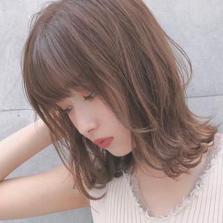 ゆるふわ 愛され デート デジタルパーマ ヘアスタイルや髪型の写真・画像