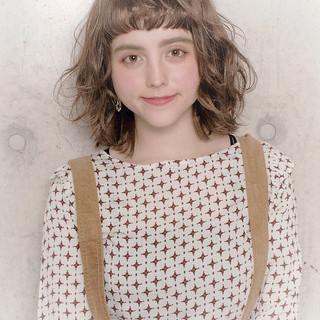 冬 モテ髪 秋 透明感 ヘアスタイルや髪型の写真・画像