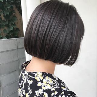 オフィス デート 黒髪 ナチュラル ヘアスタイルや髪型の写真・画像