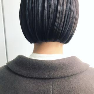 まとまるボブ ミニボブ モテボブ ショートヘア ヘアスタイルや髪型の写真・画像