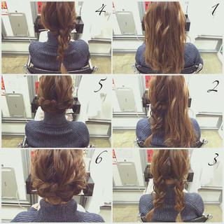 ミディアム ショート ナチュラル 簡単ヘアアレンジ ヘアスタイルや髪型の写真・画像