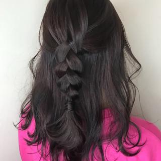 ガーリー 大人かわいい 涼しげ 夏 ヘアスタイルや髪型の写真・画像