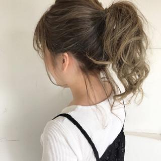 ナチュラル 涼しげ 夏 色気 ヘアスタイルや髪型の写真・画像