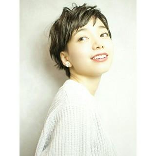 小顔 大人かわいい 外国人風 無造作 ヘアスタイルや髪型の写真・画像