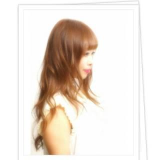 大人かわいい モテ髪 ゆるふわ ロング ヘアスタイルや髪型の写真・画像
