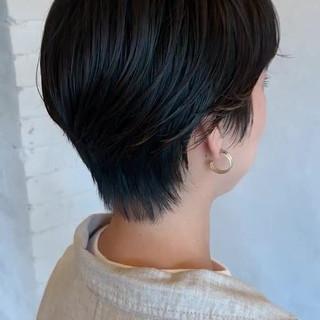ショート ベリーショート ハンサムショート ショートボブ ヘアスタイルや髪型の写真・画像