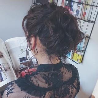 お洒落 ミディアム 夏 ヘアアレンジ ヘアスタイルや髪型の写真・画像