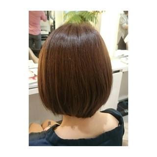 ワンレングス ストレート 大人かわいい ワンカール ヘアスタイルや髪型の写真・画像