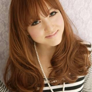 愛され フェミニン モテ髪 卵型 ヘアスタイルや髪型の写真・画像