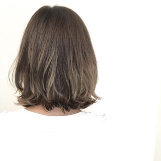 グラデーションカラー 暗髪 ボブ アッシュ ヘアスタイルや髪型の写真・画像