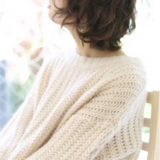 大人女子 ガーリー ゆるふわ 黒髪 ヘアスタイルや髪型の写真・画像
