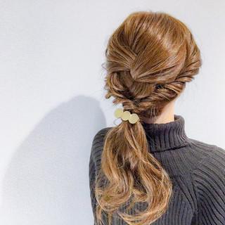 デート エレガント オフィス 結婚式 ヘアスタイルや髪型の写真・画像
