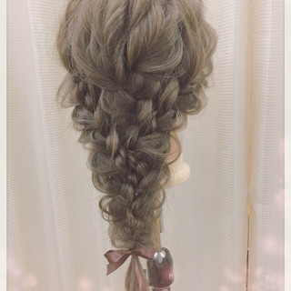 結婚式 フェミニン 簡単ヘアアレンジ ショート ヘアスタイルや髪型の写真・画像