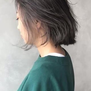 アッシュ 外国人風カラー 外国人風 ヘアアレンジ ヘアスタイルや髪型の写真・画像