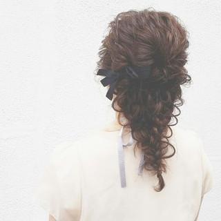 アッシュ 簡単ヘアアレンジ ゆるふわ 外国人風 ヘアスタイルや髪型の写真・画像