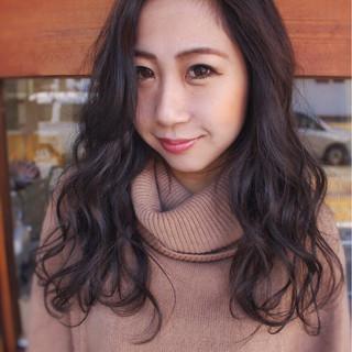 ナチュラル 暗髪 外国人風カラー 大人女子 ヘアスタイルや髪型の写真・画像