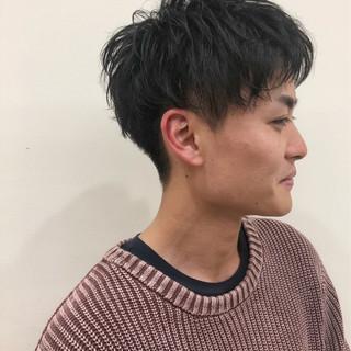 ショート メンズ メンズヘア ナチュラル ヘアスタイルや髪型の写真・画像