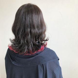 ミディアム 透明感 秋 外国人風 ヘアスタイルや髪型の写真・画像