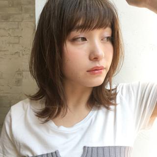 黒髪 リラックス 斜め前髪 大人女子 ヘアスタイルや髪型の写真・画像