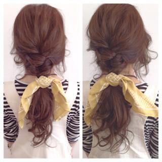 ラフ 簡単ヘアアレンジ 編み込み ヘアアレンジ ヘアスタイルや髪型の写真・画像